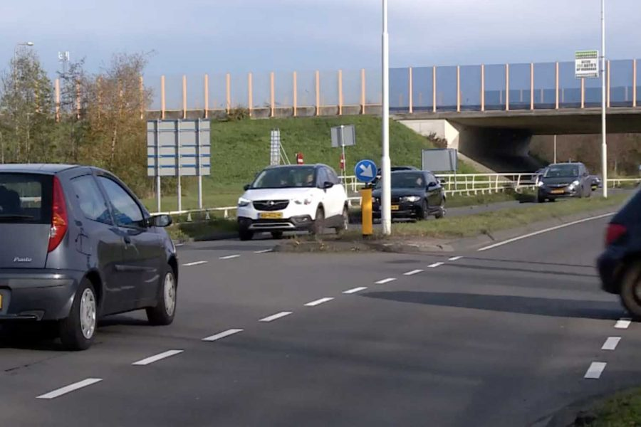Gevaarlijkste kruispunt van Friesland